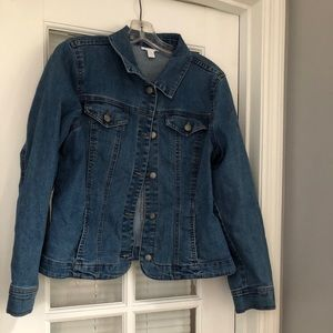 Jean jacket Charter Club petite medium